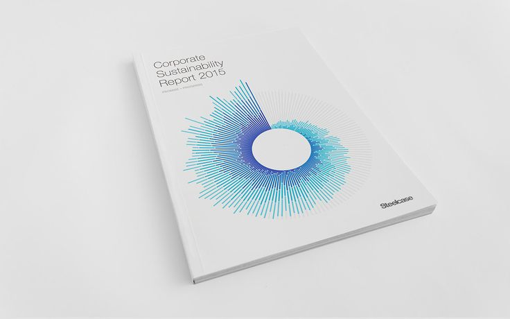 Steelcase Sustainability Report 2015 on Behance