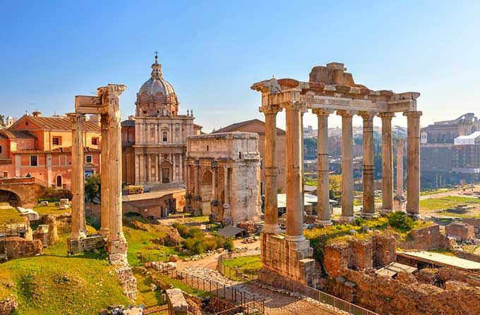 The Roman Forum, once the administrative heart of the city, is now one of the most popular tourist attractions in Rome and it's FREE!