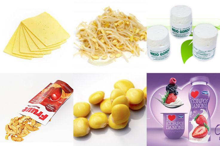 Snacks saudáveis e saborosos