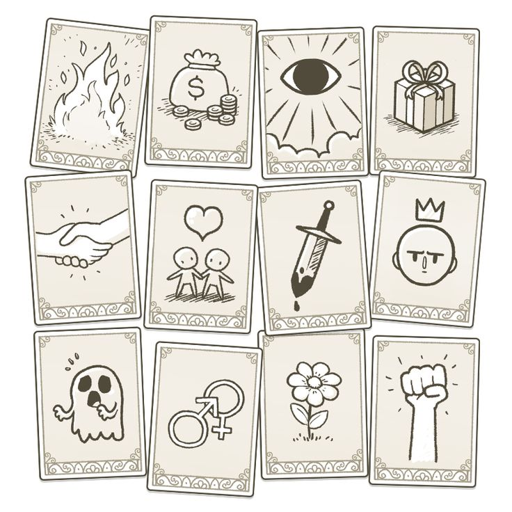 Dom2D | Symbol cards forMuseum of Parallel Art