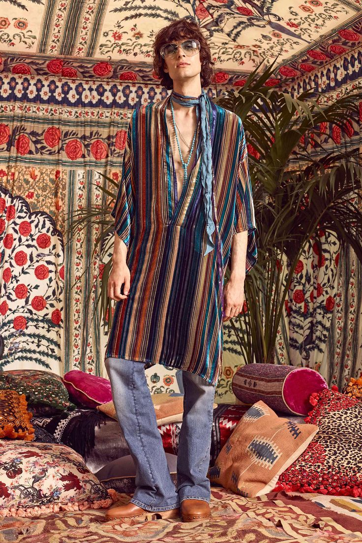 Roberto Cavalli SS 2017 Menswear by Peter Dundas