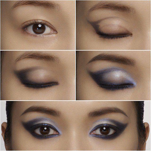 SMART-#ELEGANT #SMOKEY #CATEYE THROUGH SIMPLE FRAMING by Uchiide #shuuemura #howto #makeup #cosmetics #stepbystep #tutorial