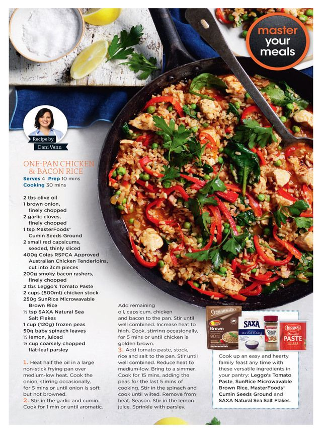 Coles Magazine June 2018 Cooking Recipes Food