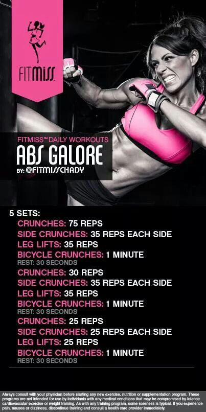 Abs Galore Workout