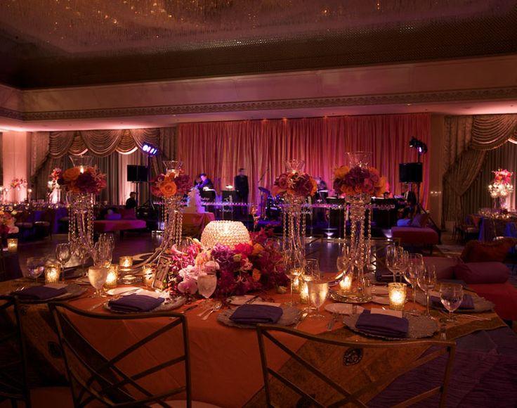 Pumpkin Pandora Silk Table Linen Rental Tablecloth