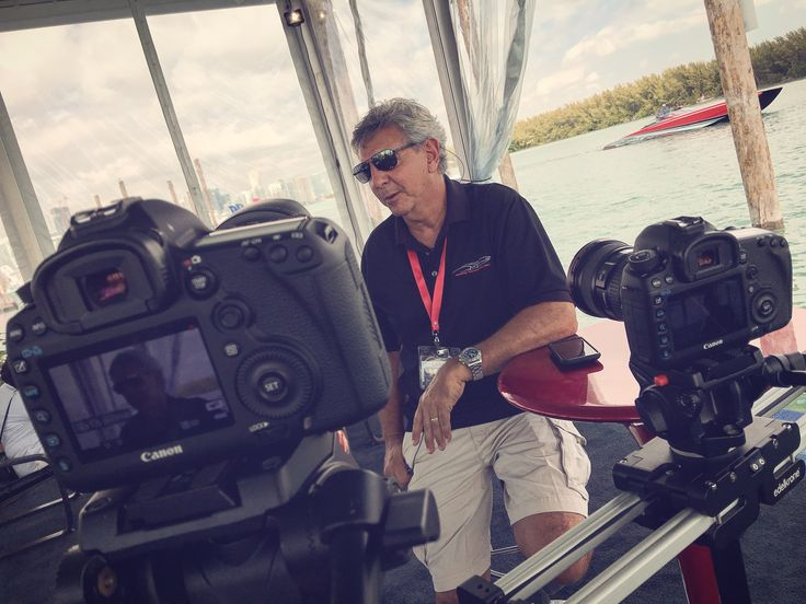 #tbt #throwbackthursday #behindthescenes #filming #interview of MTI at Miami International Boat Show using 2x #Canon5Dmarkiii w/ Lexar CF cards on Edelkrone & Manfrotto  • For more info: AnthonyDigitalMedia.com •  #videographer #videomaker #videography #videoshoot #videoproduction #camera #cameraman #cameraready #filmmaker #filmmaking #tvproduction #travel #miami #miamibeach #filmproduction #tv #boating #canon #dslr #manfrotto #tripod #throwback