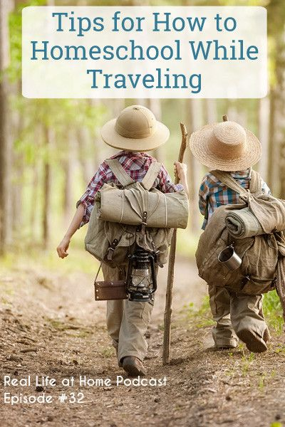 Learning happens every day, but what about when you want to do more of your formal learning while traveling? Here are tips for how to homeschool while traveling to help you on your next big trip or adventure.