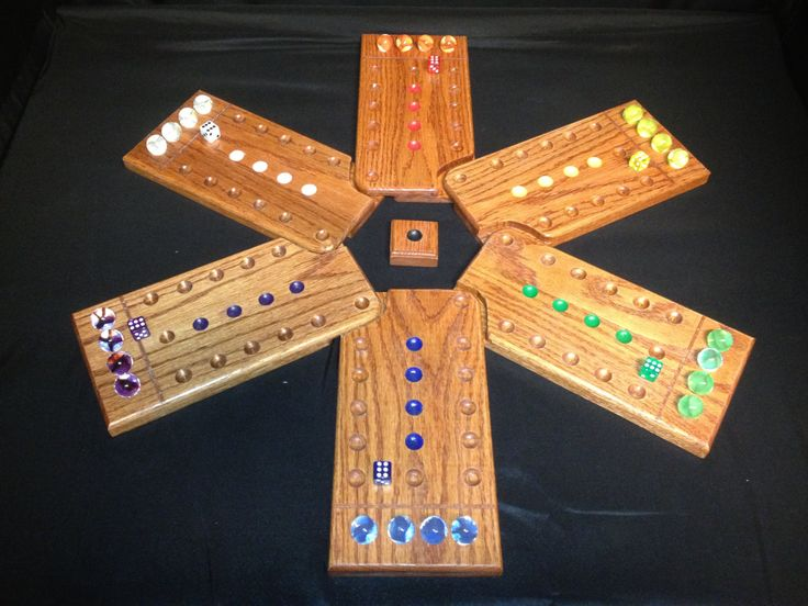 Awesome game!  this is gonna keep us busy at night while camping!!!    Wahoo / Aggravation Hand Crafted Wooden Game by GoldenCloverGames, $75.00
