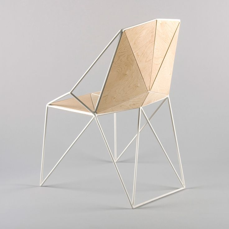 Is A Minimalist, Polygon Shaped Chair Designed By Maxim Scherbakov. A  Beautiful Chair For A Modern Interior. The Main Goal Was To Create A Cha.