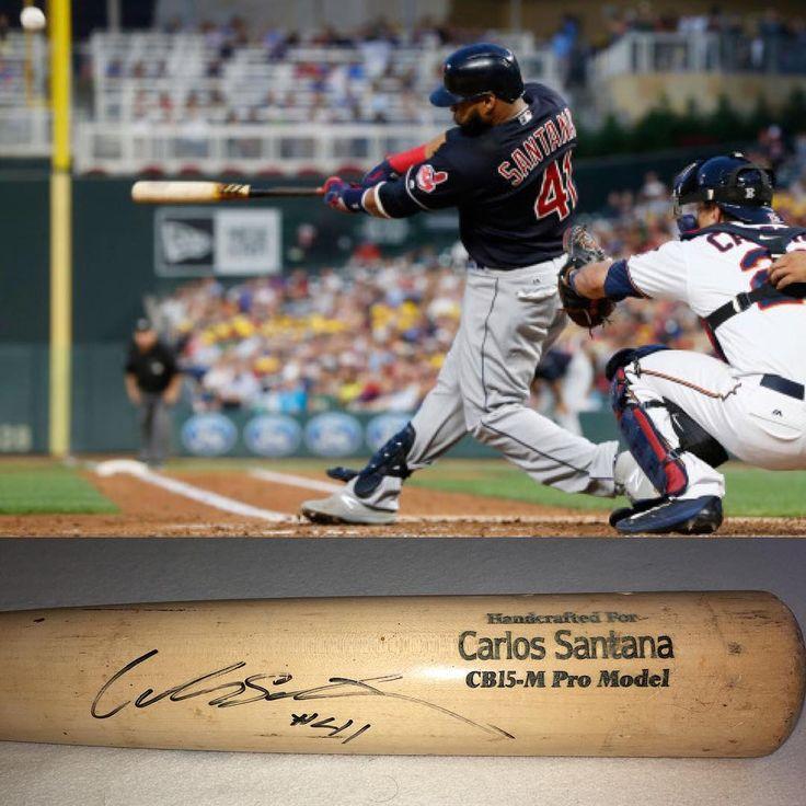 Carlos Santana Game Used Cracked Bat  . . . . #carlossantana #twins #philly #minnesota #mlb #mlbbaseball #autograph #autographs #gameused #baseball #phillies #philidelphia #memorabilia #sportsmemorabilia #graphing #41 #gameusedbat #sports #brokenbat #bat #baseballbat #winning #usa