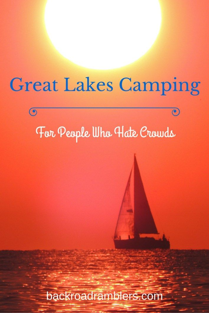 What's the best part about family camping on the Great Lakes - sandy beaches, fresh water, and shark-free swimming! Check out these secret campgrounds for a relaxing, crowd-free Great Lakes vacation.