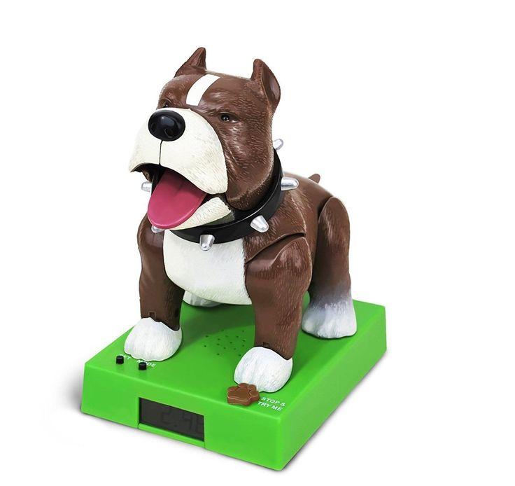 Sparky The Rappin' Bulldog Talking Alarm Clock