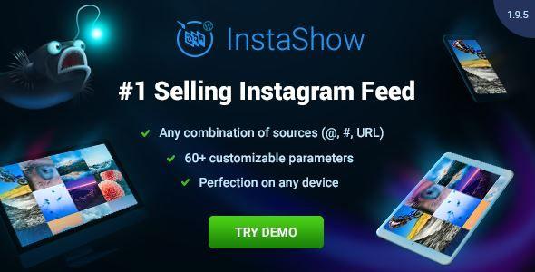 Download Instagram Feed for WordPress - InstaShow