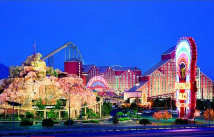 Buffalo Bills hotel Casino, located in Primm Nevada around 30-40 south of Las Vegas.