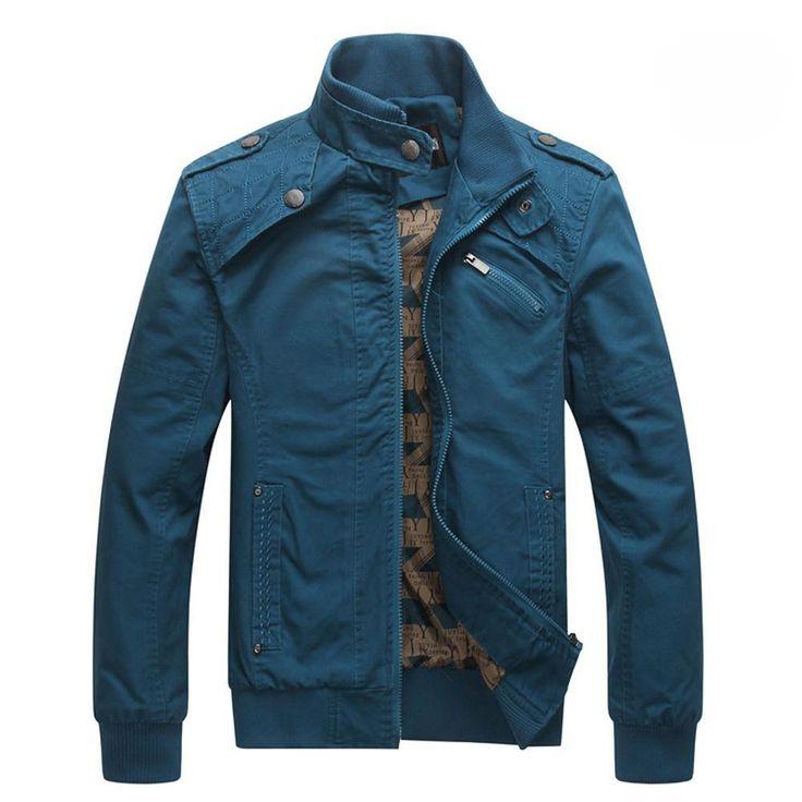Stand Collar Cotton Coat