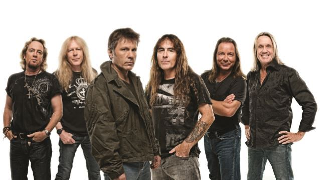 IRON MAIDEN Bangs Out Soccer Game Before Dallas Show (Video)