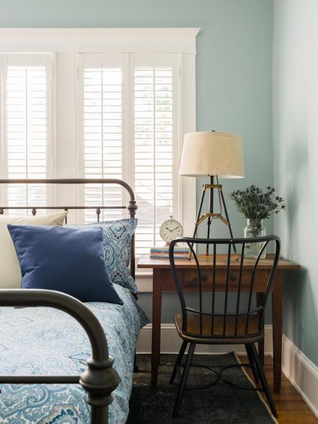 This post offers beautiful Inspiration for plantation shutters throughout the home.