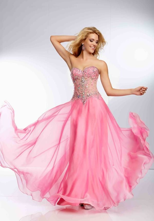 17 Best images about long pink prom dresses 2015 on Pinterest ...