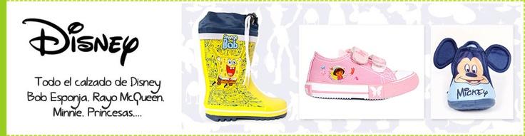Empieza una nueva semana y... ¡lo hacemos con la fantasía de Disney como protagonista de muchos de los juegos de nuestros pequeños y ahora también de su calzado!     Zapatillas de casa, deportivas, botas de agua de Bob Esponja, Cars, Princesas, Dora Explorado, Mickey, Minnie,... en https//www.babytendence.com