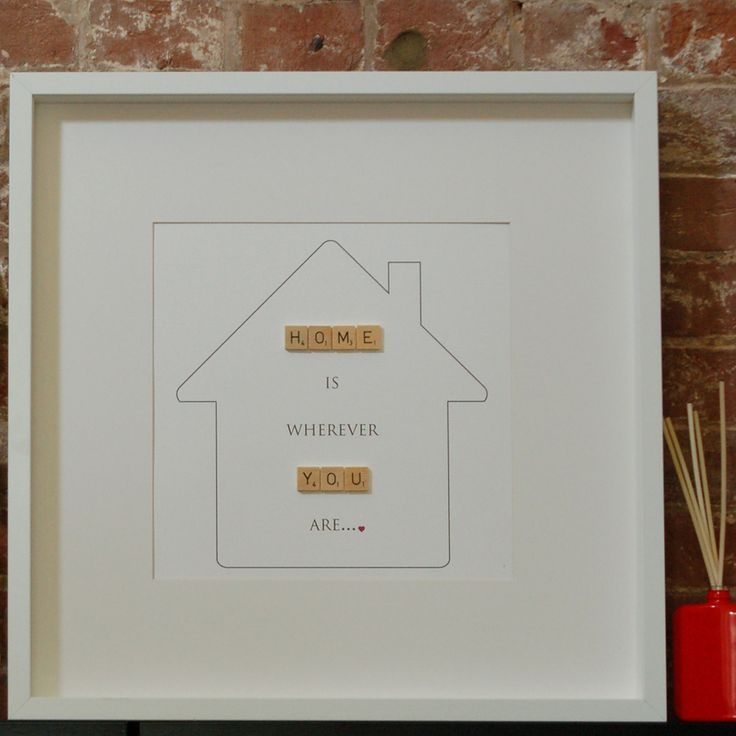 'Home' Is Wherever 'You' Are... http://sweetclementine.co.uk/products/home-is-wherever-you-are