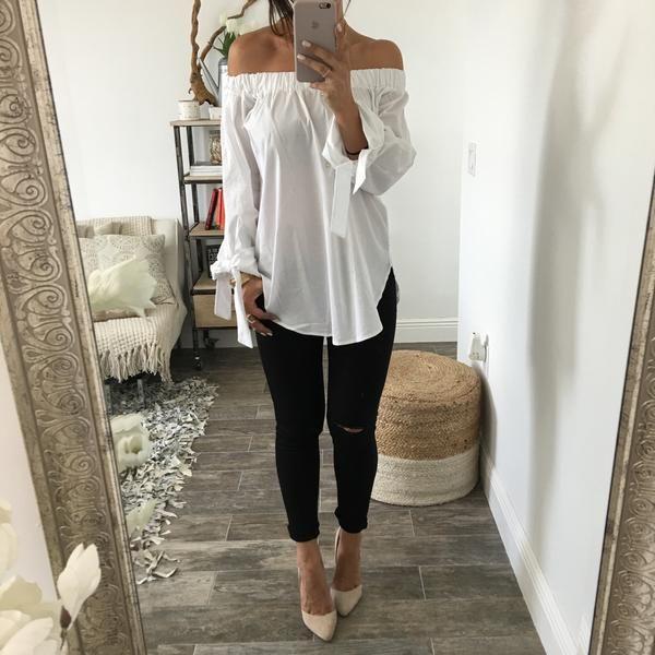 手机壳定制shoes online for women Knee Slit Skinny Jeans  Black