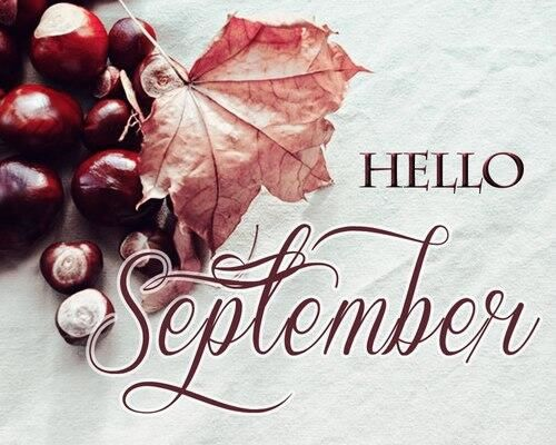 ∻ September Facebook Cover ∻