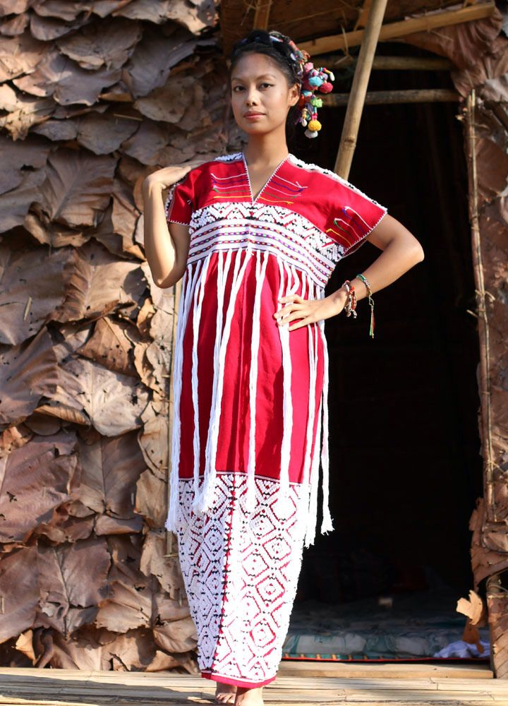 Karen Hilltribe dress. I believe I have one. Very pretty right?