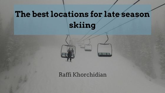 Best locations for late season skiing
