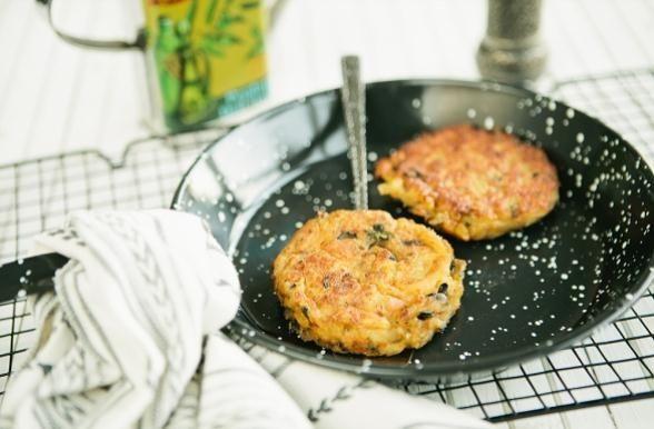 Receita de Hambúrguer de Bacalhau com Flocos de Batata
