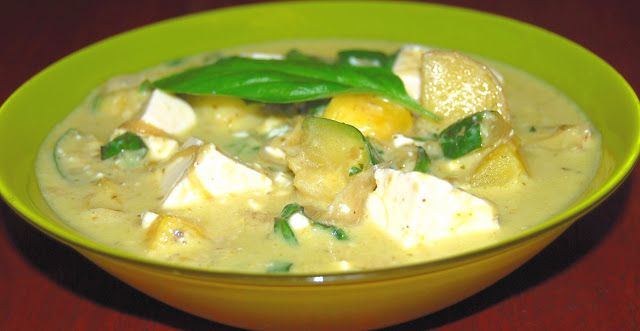 Thai Green Curry - Holy Cow!