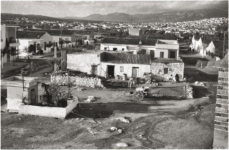Περιοχή της Αθήνας, 1950-51 © Κέντρο Μικρασιατικών Σπουδών
