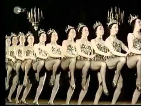 Tiller Girls London - All legs and formations...
