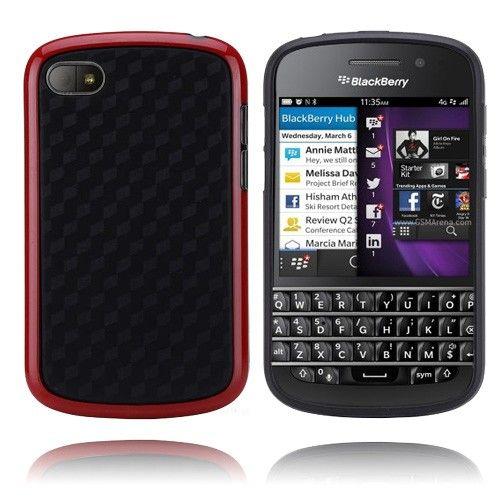 Edge (Punainen) BlackBerry Q10 Suojakuori