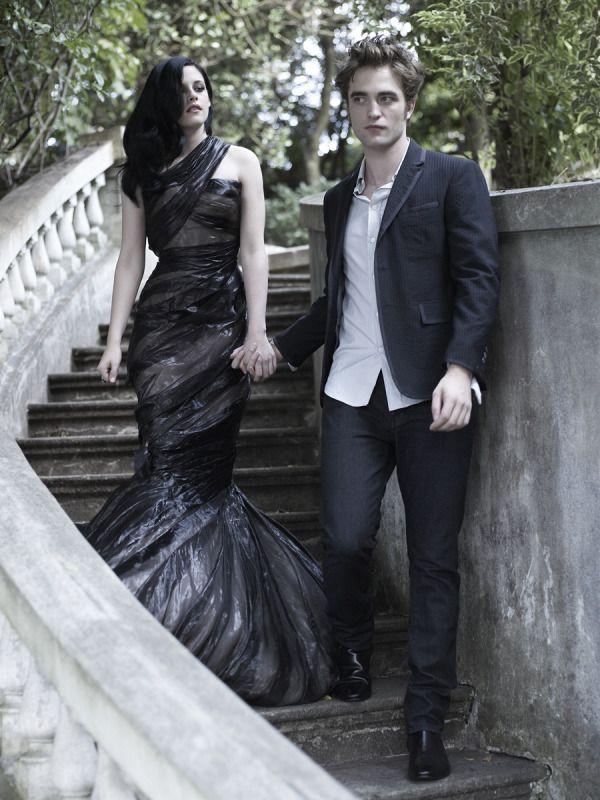Robert Pattinson and Kristen Stewart.