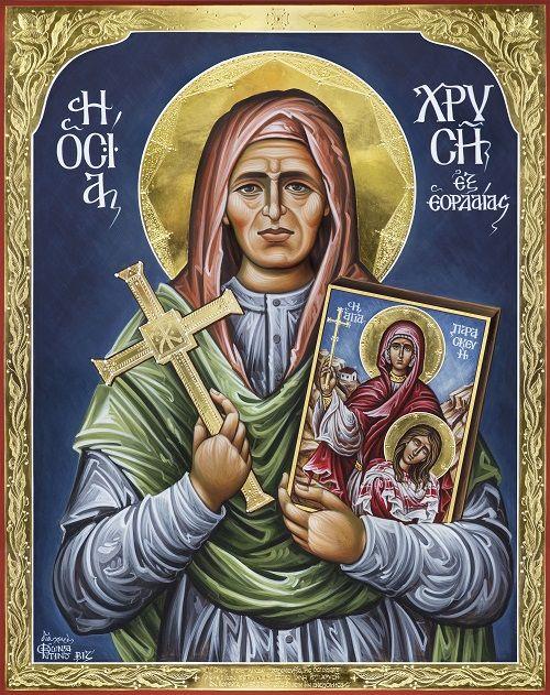 Πνευματικοί Λόγοι: Η Οσία Γερόντισσα Χρυσή της Εορδαίας