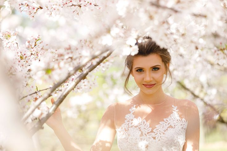 Cherry blossom fairy in a tulle lace dress, in one of the dreamiest posts from  my blog: www.larisacostea.com/2017/04/cherry-blossoms-fairy/