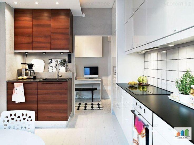 Die besten 25+ Minimalist l shaped kitchens Ideen auf Pinterest - moderne wohnzimmer mit galerie