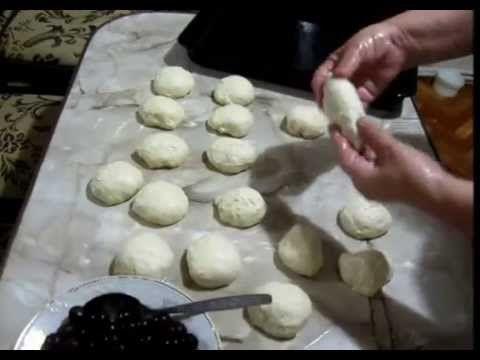 Пирожки с вишней - YouTube