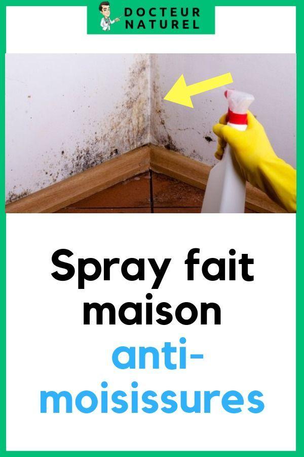 Spray Fait Maison Anti Moisissures Moisissure Fait Maison Faire Soi Meme