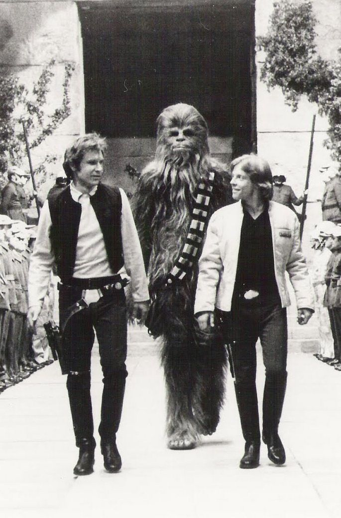 Star Wars | iconic | black white | hollywood | chewy | harrison ford | www.republicofyou.com.au