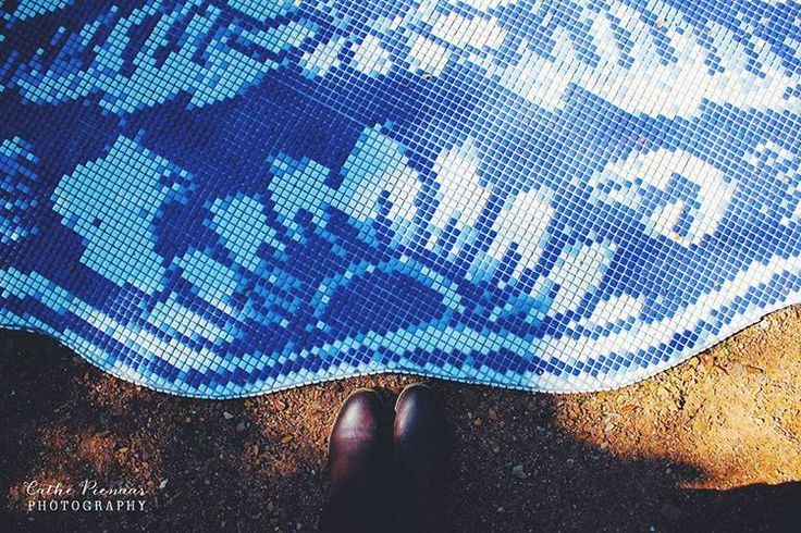 Exploring the beautiful @babylonstoren #wander #mosaic #blue #shadow #farm #organic #adventures #explore 🍃🌾🍋👗🎈  Cathé Pienaar Photography. Cape Town, South Africa, but travel all over.   Contact for information on bookings and package.  - http://cathe.co.za/  - info@cathe.co.za  - https://www.facebook.com/CathePienaarPhotography