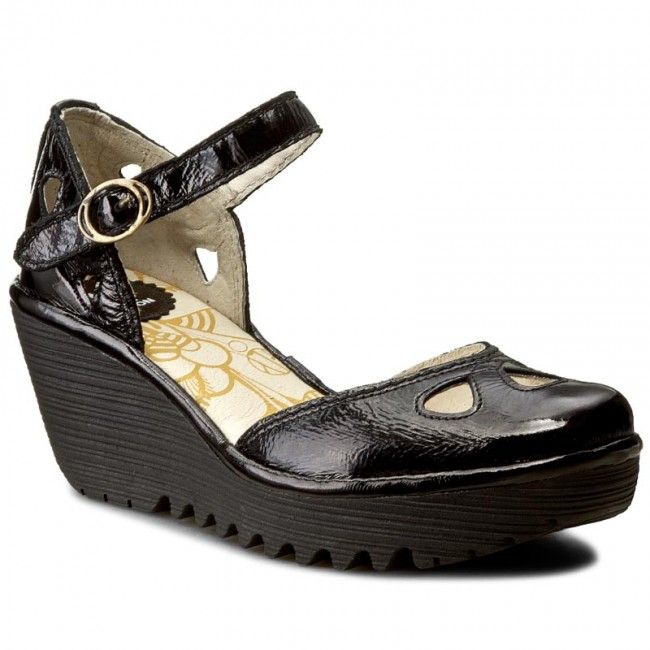 Sandale FLY LONDON - Yuna P500016130 Black