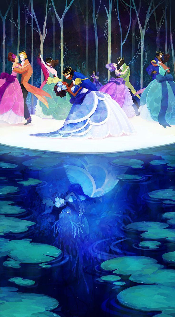 [by Lady Garland] -- Twelve Dancing Princesses, one of my favorite fairytales!