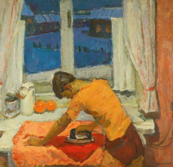 Шепелев Вячеслав Васильевич (1924-1992) «Вечер» 1960