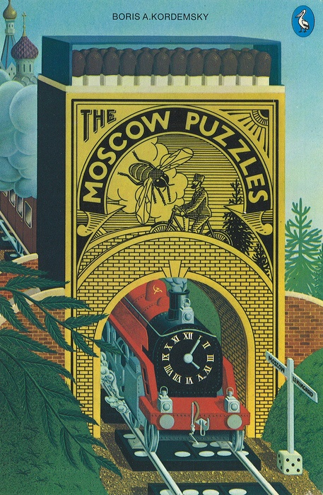 "The Moscow Puzzles.  Most popular Russian puzzle book ever published. Marvelously varied puzzles ranging from simple ""catch"" riddles to difficult problems."