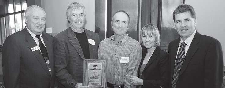 Mike Foley, of Foley Restoration in Schomberg, is King Township's Business Person of the Year.