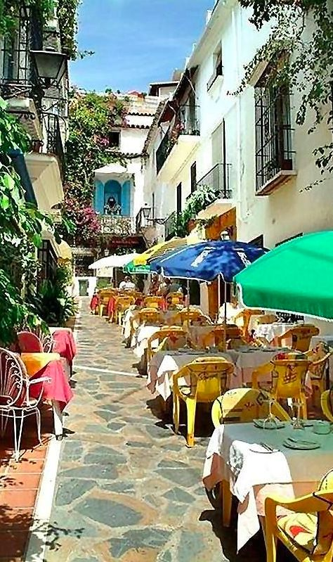 Restaurant Marbella Patio in Casco Antiguo (Old Town) Marbella, Spain • original source not found