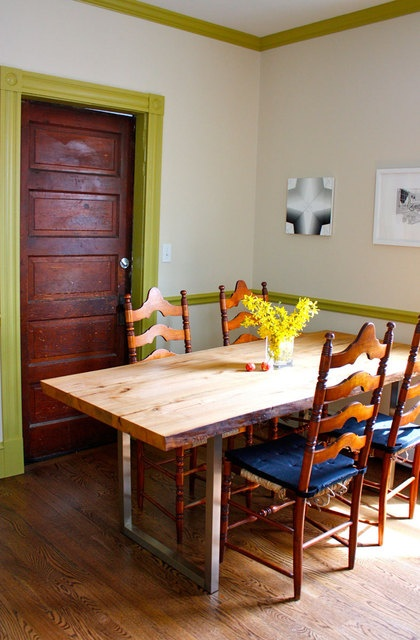 I Would Love To Paint Molding Something Other Than White Diy Dining TableWood