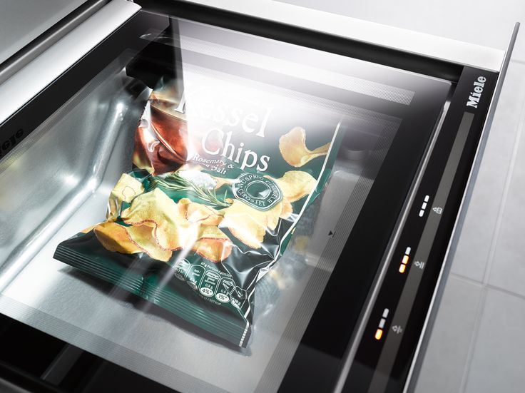Did you know that you can also use your Sous Vide Vacuum Sealing Drawer to reseal open bags of crisps? From professional style cooking to handy everyday solutions, the range of Miele Sous Vide Vacuum Sealing Drawers offer a range of benefits