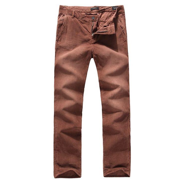 Из Европы, США и Испании оригинальные одного хлопка супер тяжелый мытья, чтобы сделать старые Тонкий прямой мужчины вельветовые брюки - Taobao